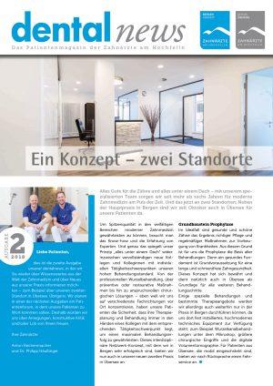 Voransicht Dentalnews 2018_2 Zahnaerzte-Hochfelln